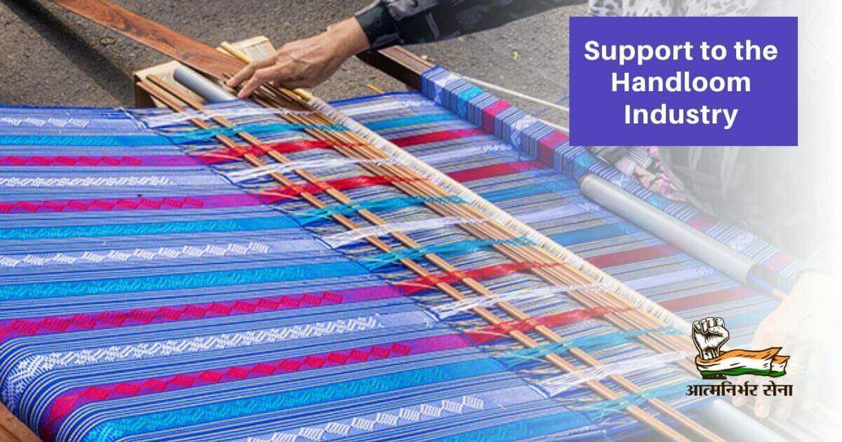 Handloom Business in India: Support to the handloom industry