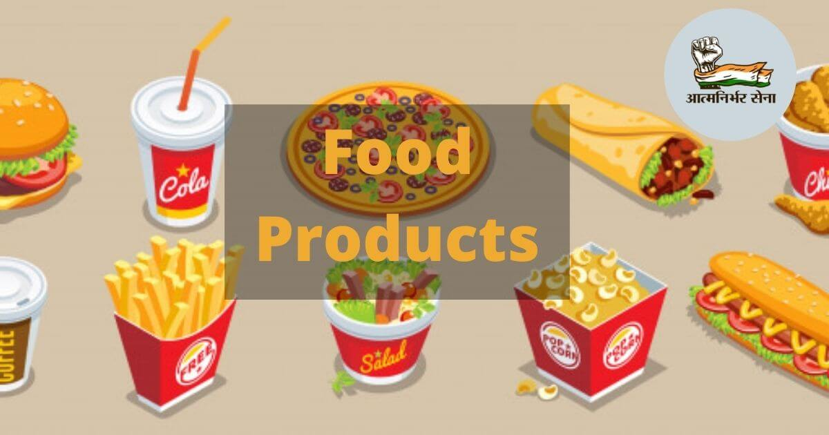 Food Products Business in India