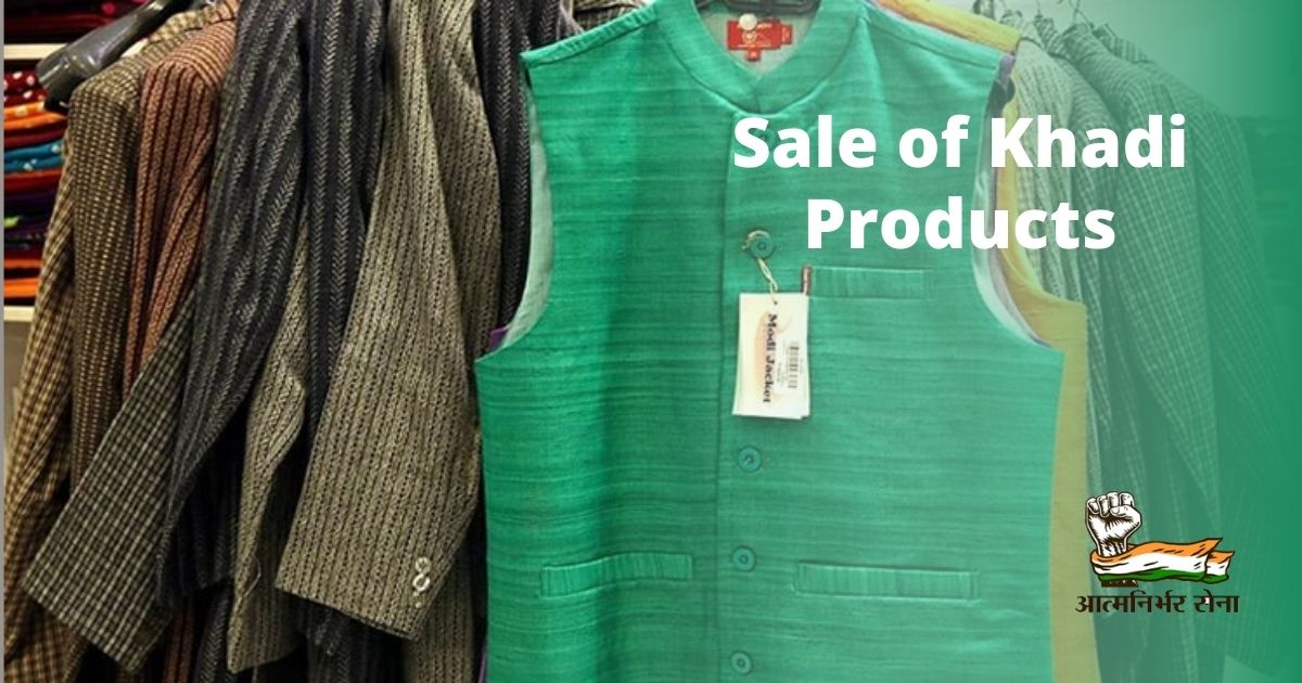 Record Sale of Khadi Products amid Covid-19 Fear in India