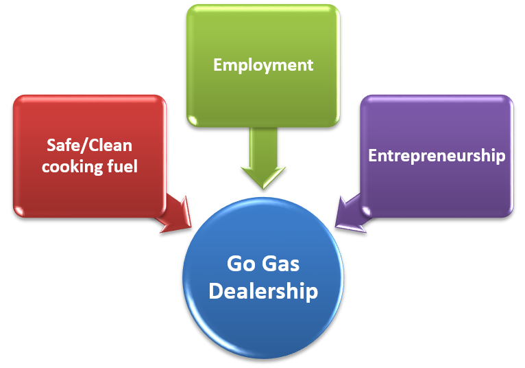 Objective of Go Gas Dealership