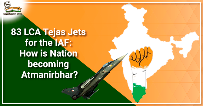 83 LCA Tejas Jets for the IAF
