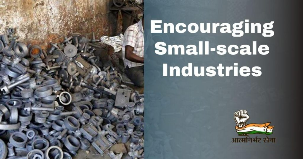 Encouraging Small-scale Industries