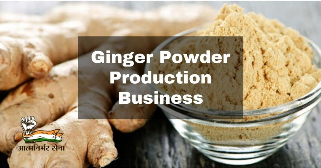 Ginger Powder Production Business