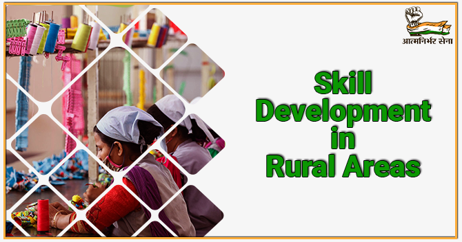 Skill Development Training in Rural India- Stride towards Growing