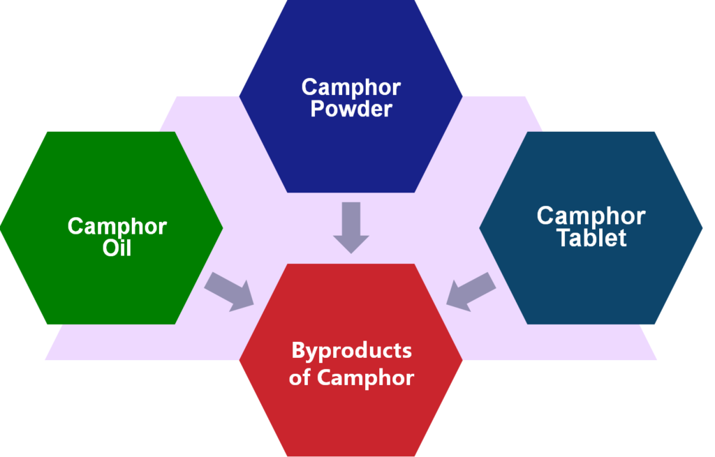Understanding the Byproducts of Camphor