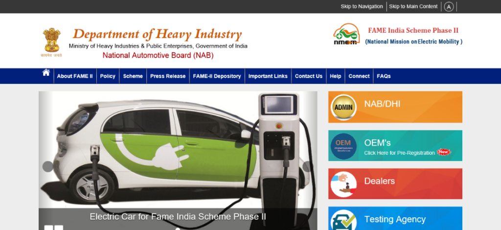 Registration and Application Process of Fame India Scheme 2021