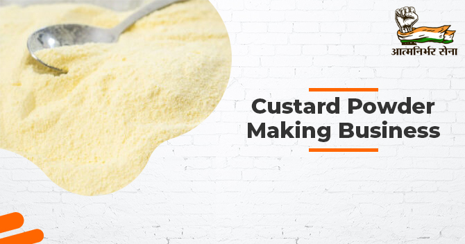 Custard Powder Making Business: A Business of Charm and Profitability