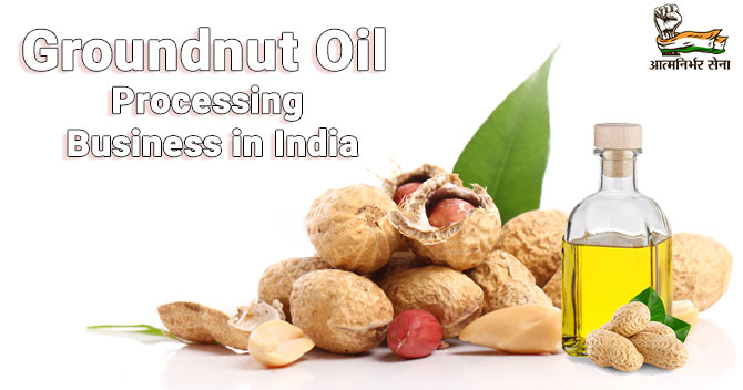 Groundnut Oil Processing Business in India: Business on the Rise